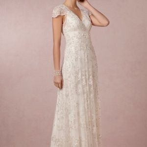 Anthropologie Dresses - Ranna Gill Mira Gown Wedding Dress Anthropologie -